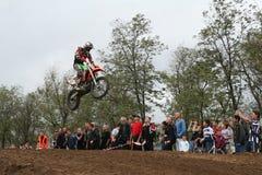 Motocross Championship in Ukraine. Motocross championship in Mariupol, Ukraine royalty free stock photography