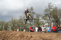 Motocross championship in Ukraine Stock Photo
