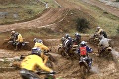 Motocross championship Stock Photography