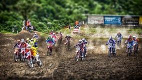 Motocross chez Cavallara 2 Photographie stock libre de droits