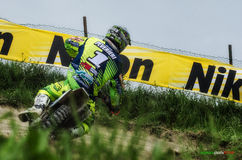 Motocross chez Cavallara 3 Photographie stock