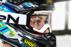 Motocross chez Cavallara 10 Image stock