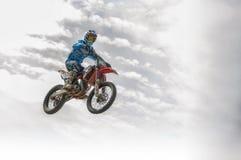 Motocross chez Cavallara 11 Photos libres de droits
