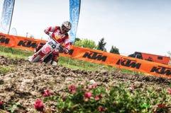 Motocross chez Cavallara 12 Images libres de droits