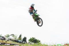 Motocross chez Cavallara 15 Images stock