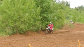motocross Cinematográfico lento metrajes