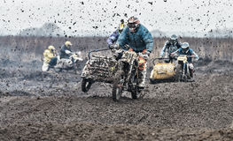 Motocross compertitions. Stock Image