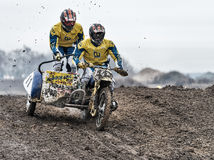Motocross compertitions. Stock Photography