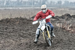 Motocross compertitions. Stock Photos