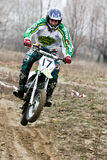 Motocross competition. Stock Image