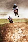 Motocross competition Stock Photos