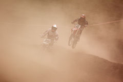 Motocross competition Royalty Free Stock Photography
