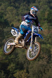 Motocross competition. Catalan Motocross Race League. Royalty Free Stock Image