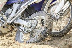 Motocross crash Royalty Free Stock Photos