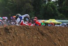 Motocross da ação Imagem de Stock