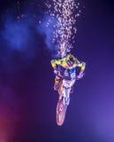 Motocross de FMX Foto de Stock