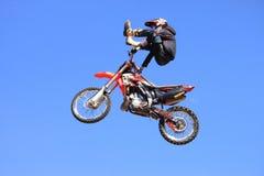 Motocross de style libre Photographie stock