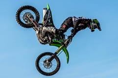 Motocross de style libre - Petr Kuchar Photos libres de droits