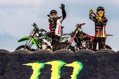 Motocross de style libre - Petr Kuchar Images stock
