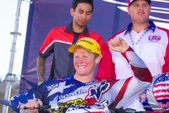 Motocross degli S.U.A. della squadra delle nazioni Fotografie Stock Libere da Diritti