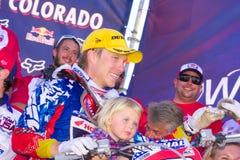 Motocross degli S.U.A. della squadra delle nazioni Immagini Stock Libere da Diritti