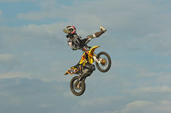 Motocross-Dennis Garhammer Royalty Free Stock Images