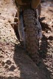 Motocross dirt background Stock Photos