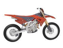 Motocross dirt bike Stock Photo