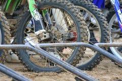 Motocross Dirt Bikes. Image of motocross dirt bike abstract style Stock Image