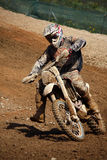 motocross dirtbike Стоковые Фото
