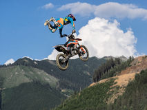 Motocross do estilo livre do MX fotografia de stock royalty free