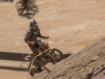 Motocross do MX na competição fotos de stock