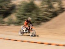 Motocross do MX na competição foto de stock