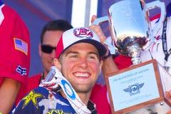 Motocross dos EUA da equipe das nações Fotografia de Stock Royalty Free