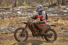 Motocross driver Stock Photo