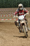 Motocross driver Stock Images
