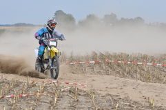 Motocross driver Stock Image