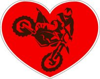 Motocross drivers silhouette. Vector illustration stock illustration