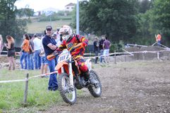 Motocross in El Berron, Asturias, spain. Stock Photography