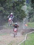 Motocross in El Berron, Asturias, spain. Stock Images