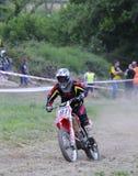 Motocross in El Berron, Asturias, spain. Royalty Free Stock Photo