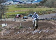 Motocross Elgin практикует. Стоковое Фото