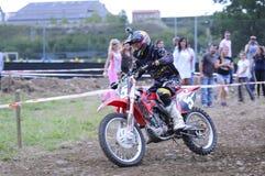 Motocross en EL Berron, Asturies, Espagne Photographie stock