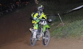 Motocross en Pola de Siero, Asturies, Espagne Photo stock