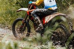 Motocross enduro athlete Royalty Free Stock Photography