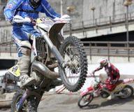 Motocross exhibition Stock Photo