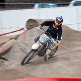 Motocross exhibition - Genoa Fair Spring 2010 Stock Images