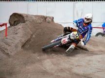Motocross exhibition - Genoa Fair Spring 2010 Stock Photos
