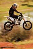 Motocross-extreem-47. Royalty-vrije Stock Afbeelding
