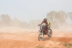 Motocross Extreme Royalty Free Stock Photo